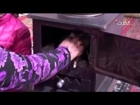شاهد بالفيديو : معاناة السوريين خلال فصل الشتاء