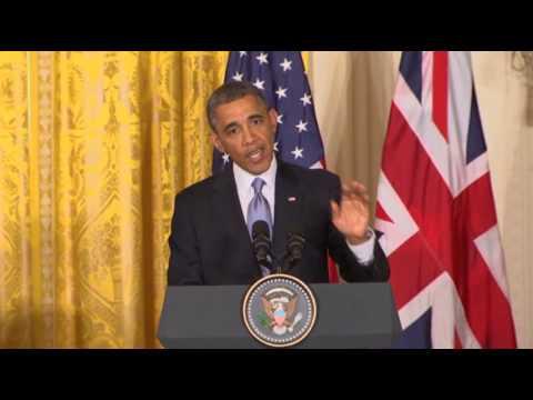 Obama Slams IRS Targeting, Defends Libya Effort  5/13/13