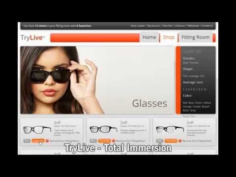 Realtà Aumentata - AR: TryLive Eyewear // OnScreen Communication