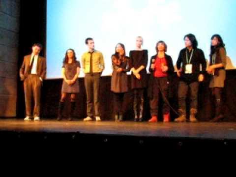 "Kristin Kreuk, Trevor Morgan, Amanda Plummer, cast & crew Q&A at ""Vampire"" Sundance World Premiere"