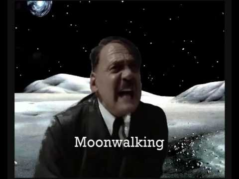 Hitler is stuck on the moon