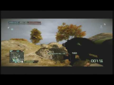 Battlefield BC 2 Fun Tactics- Parachuting