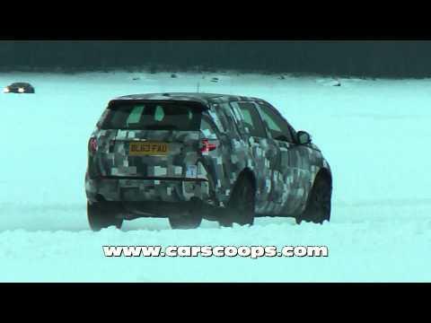 "Шпионы засняли новые Land Rover Freelander и Discovery. ""За Рулем"" www.zr.ru"