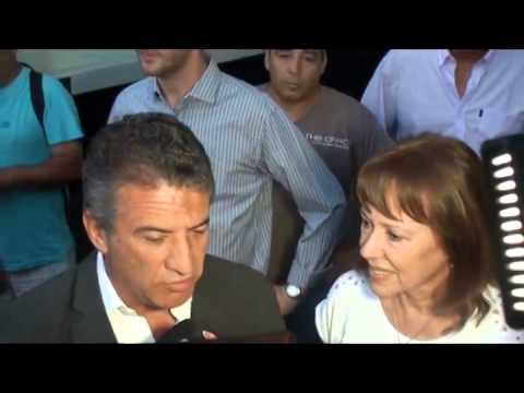 Blanca Osuna present� nueva maquinaria con Urribarri