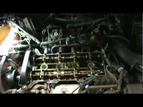 1999-03 Mazda Protege timing belt replacement: part 2