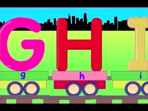 Learn Alphabet Train - learning alphabet abc for kids