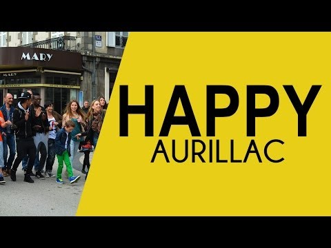 We are HAPPY from AURILLAC - Clip Pharrell Williams