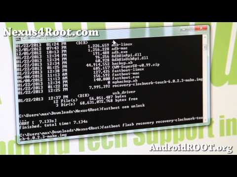 How to Root Nexus 4! [Android 4.2.1/4.2.2][ADB Backup]