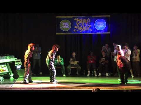 LES TWINS vs OLDFUTURE CREW