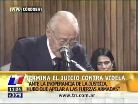Jorge Rafael Videla  Había que combatir al enemigo   TN com ar   Todo Noticias