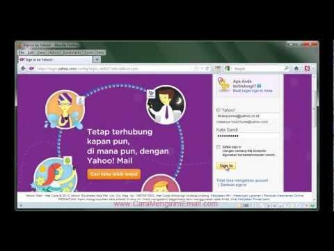 CARA BARU Mengirim Email di Yahoo | dengan Lampiran file, gambar, foto, dokumen dll.