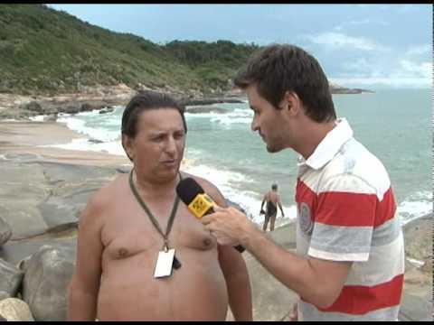 PRAIA DO PINHO - NUDISMO EM SANTA CATARINA