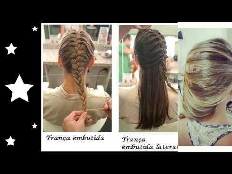 [Penteados] Tranças ,Nagô,Embutida, Escama de peixe, para cabelos longos e curtos