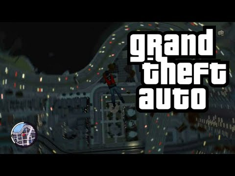 GTA Funny Moments with The Crew: Demon Swing Set Glitch and Flying