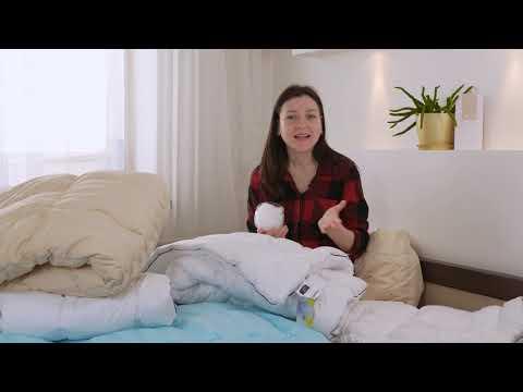 "Одеяло антиаллергенное с Eco-Soft Летнее ""Royal Pearl"" HAND MADE №844"