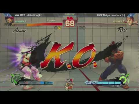 SSF4: WW MCZ Infiltration vs MCZ Daigo Umehara - SF25th Grand Finals