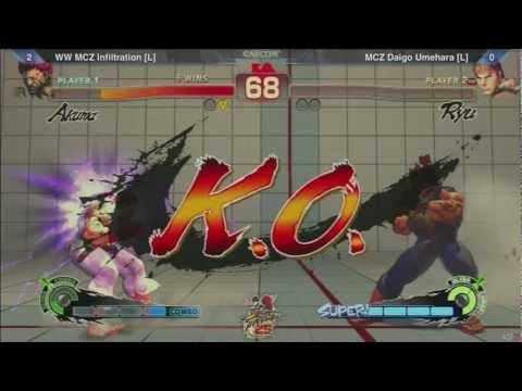 SSF4: WW MCZ Infiltration vs MCZ Daigo Umehara - SF25th Grand Finals