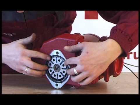 Разборка счетчика и насоса Benza (Видео)