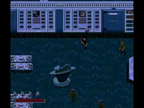 Demolition Man (SNES) Stage 6-The Library