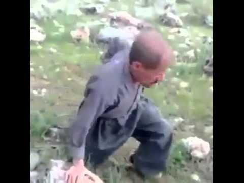 شاهد بالفيديو: مقطع طريف لافضل واشهر قناص في العالم..ههههه