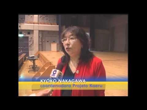 Palestra Projeto Kaeru OIZUMI GUNMA , reportagem exibida pela IPC.