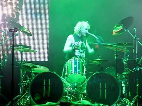 Scorpions - James Kottak Drum Solo Part 1 (25.10.2010, Sofia, Bulgaria)