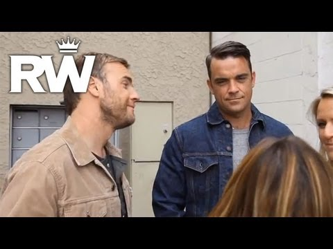 Robbie Williams & Gary Barlow - Shame: The Making Of The Video