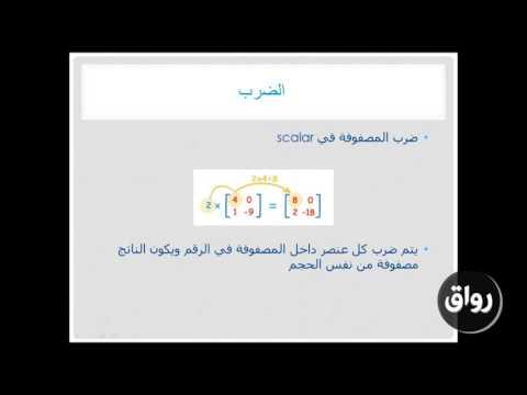 أساسيات برنامج الماتلاب _ المحاضرة الثانية ـ 2-5