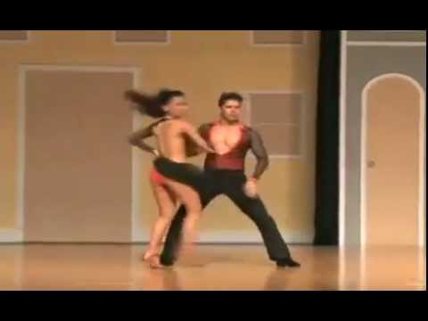 Carine Morais y Rafael Barros | Puerto Rico Salsa Congress 2011 - Semi-Final do World Salsa Open