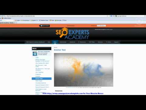 SEO Experts Academy - See What-s Inside The Course!