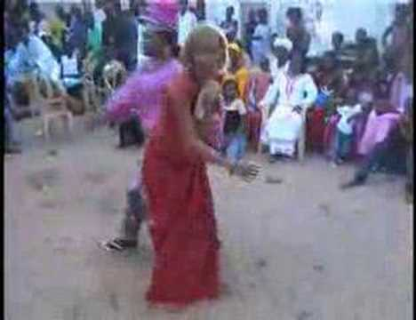 Sabar dancing in Senegal