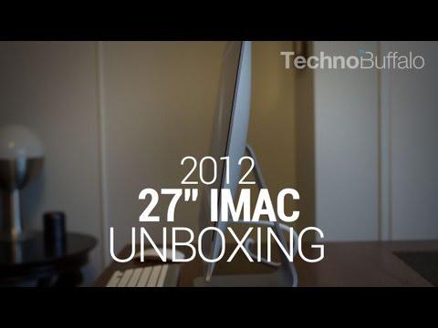 "27"" iMac 2012 Unboxing"