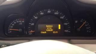 ДВС (Двигатель) Mercedes W203 Артикул 50800717 - Видео
