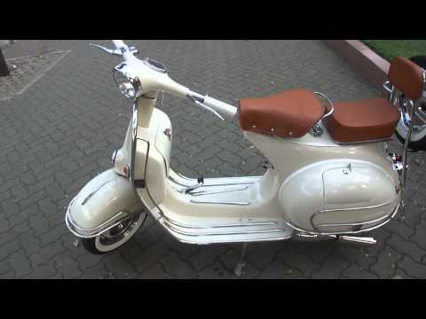 Classic Vespa VBB 150cc in Ivory Cream - ID: SV#086