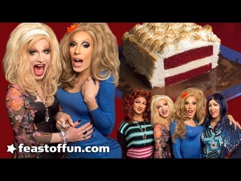 Baked Alaska Thunderf--k with Jinkx Monsoon Sauce