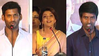 Watch Vishal, Kajal Agarwal, Soori at Paayum Puli Audio Launch Red Pix tv Kollywood News 03/Aug/2015 online