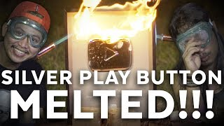 Silver Play Button Burn and Melted! | Mati Penasaran #19