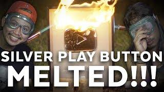 SILVER PLAY BUTTON Dibakarrrr  Mati Penasaran #19