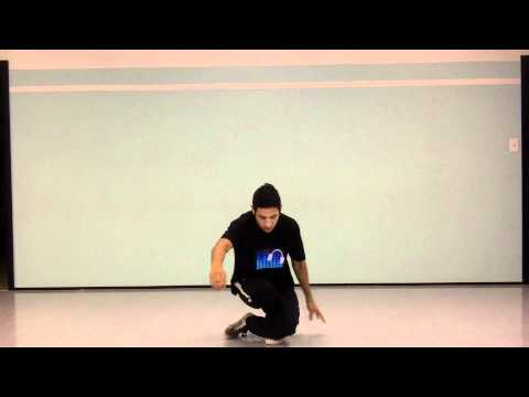 Hip Hop Popular Dance Moves Tutorial: The Knee Drop James Brown Pin Drop