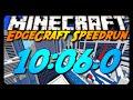 Minecraft: EdgeCraft Parkour Speedrun - 10:06.0