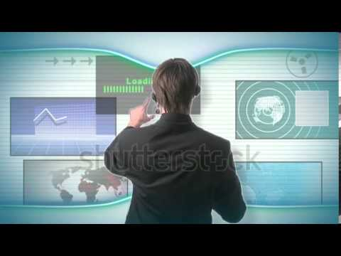 stock-footage-man-drawing-graph