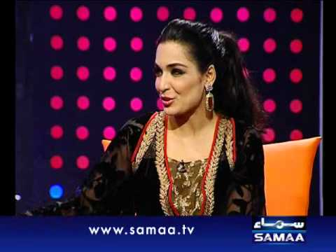 Cafe Meera September 16, 2012 SAMAA TV 1/3