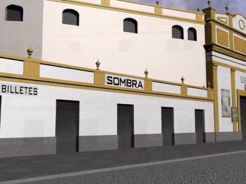 Plaza de toros de Los Tejares 3D - La última corrida que se celebró en este coso se produjo el día 18 de abril de 1965 donde actuaron El Puri, Antonio Sánchez Fuentes, y José María Susoni.