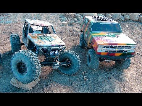 RC ADVENTURES - Scale RC 4x4 & 6x6 Trucks on the Trail at Blackfoot RC Park - UCxcjVHL-2o3D6Q9esu05a1Q
