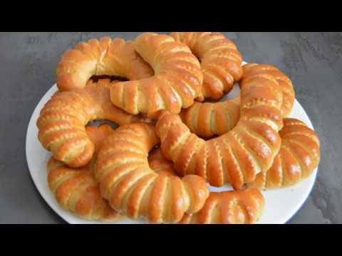Brioche à la crème pâtissière / بريوش  بالكريم الحلويات / Brioche with pastry cream