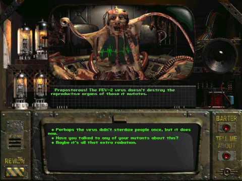 Fallout 1 ending: the master kills himself