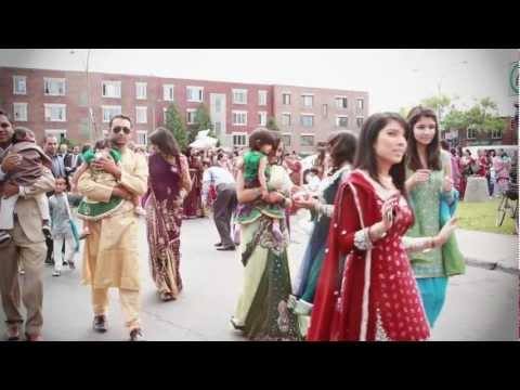 Dina Patel & Darpan Patel | Gujarati Hindu Wedding Ceremony | Montreal | Mediavision Cinematography