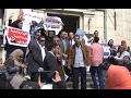 وقفة للمحامين داخل «النقابة» احتجاجًا على شروط القيد الجديدة  - 16:20-2017 / 2 / 9