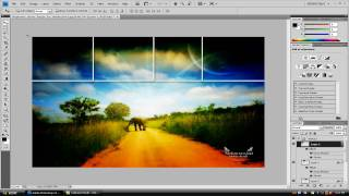 Adobe Photoshop CS4 Extended: Cool Background Effect Tutorial