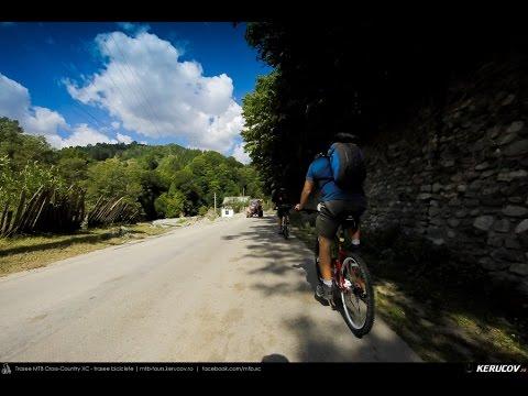 VIDEOCLIP Traseu cu bicicleta MTB Gara Lotru - Brezoi - Valea lui Stan - Malaia - Ciungetu - Petrimanu [VIDEO]